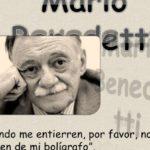 Información sobre el gran escritor y poeta Mario Benedetti