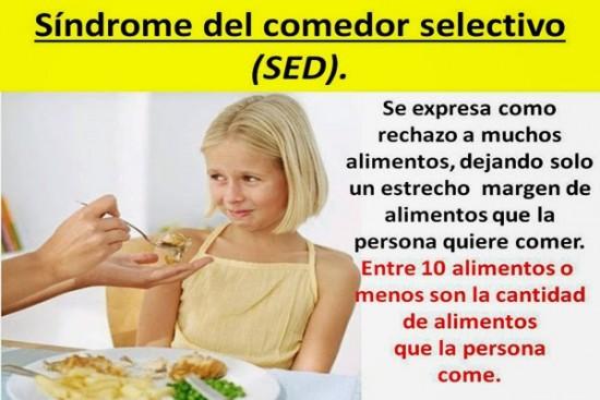 Más información sobre el Síndrome del Comedor Selectivo ... - photo#6