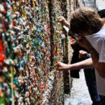 Información sobre el Muro de Chicle tras la limpieza de la pared