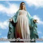 Día de la Inmaculada Virgen María, 8 de diciembre: Información