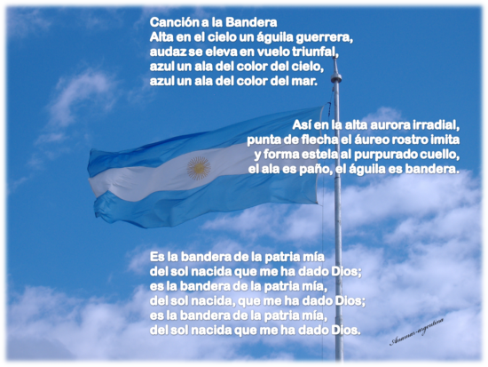 cancion a la bandera -anamar-argentina