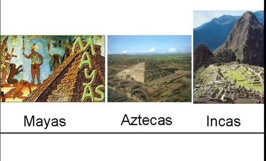 mayas,aztecas,incas