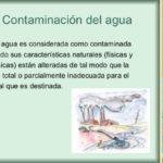 Más información sobre la Contaminación del Agua