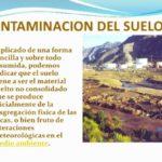 Más información sobre la Contaminación del Suelo