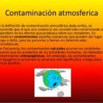 Más información sobre la Contaminación Atmosférica y sus efectos