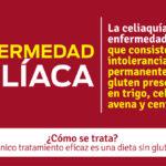 Información sobre la Celiaquía: Qué es, causas, síntomas y tratamiento