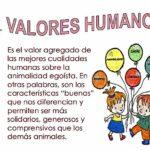 Información sobre los Valores