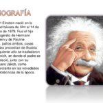 Información de Albert Einstein