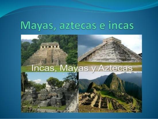 Bien connu Información de los Mayas, Aztecas e Incas | Información NA06
