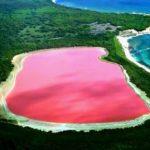 Información sobre los lagos rosa, ¿cuántos hay?