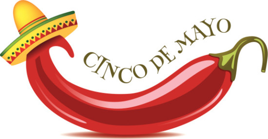 Cinco De Mayo jalapeno background.