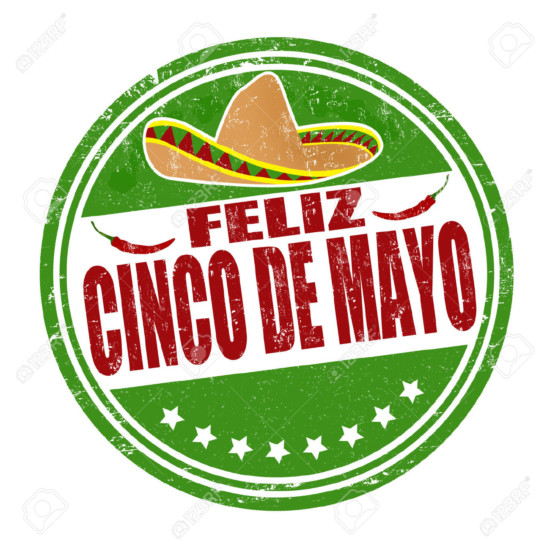 cinco25402591-Happy-5th-of-May-in-spanish-language-Feliz-Cinco-de-Mayo-grunge-rubber-stamp-on-white-vector-illustr-Stock-Vector