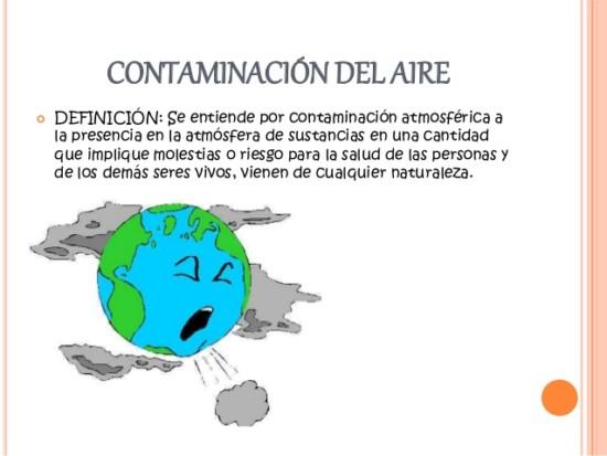 M s informaci n sobre la contaminaci n del aire for Informacion sobre el suelo