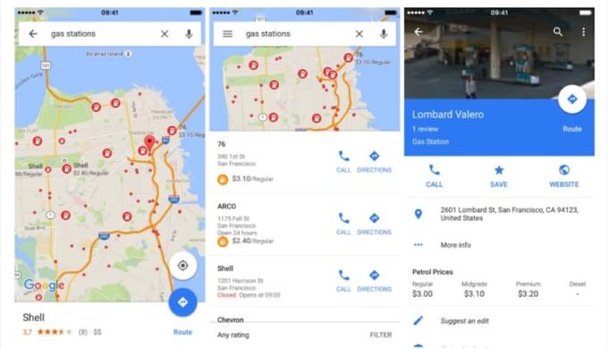 google-maps-informacion-hoarios-tiendas-precio-combustible
