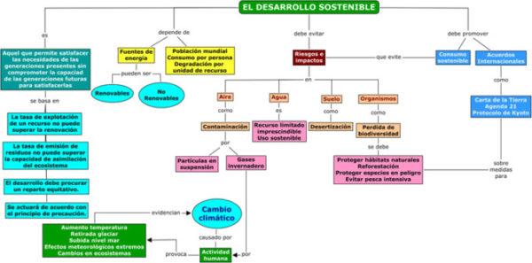 Qué Es Un Mapa Conceptual Características Tipos Partes